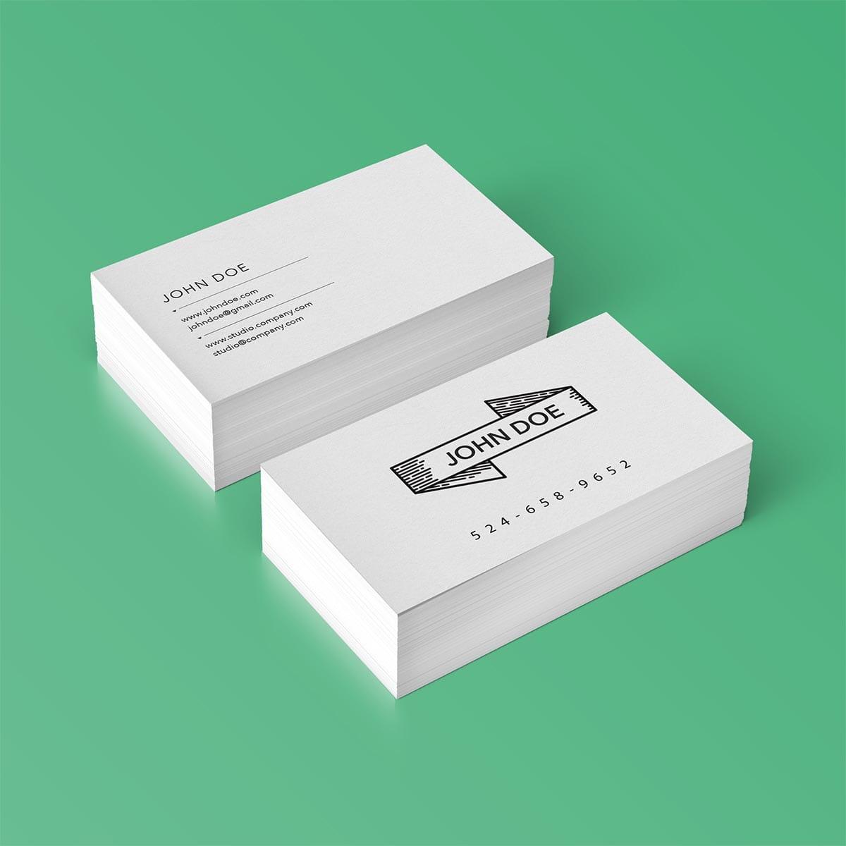 Impression cartes d'affaires Montréal
